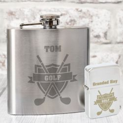 Golf Lighter & Hip Flask Thumbnail