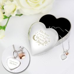 Heart Trinket Box & Pendant Set Thumbnail