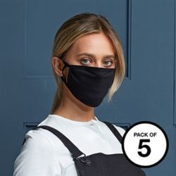 Face Mask_2 Ply Washable Face Covering Pack 5 Thumbnail