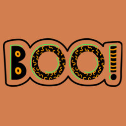 Boo Ladies T Shirt Design