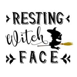 Witch Face - Women's t-shirt Design
