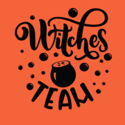 Witch Team - Long sleeve t-shirt, Softstyle® Design