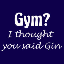 Gym/Gin Sweatshirt Design