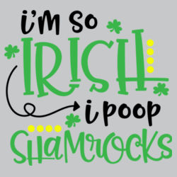 I'm So Irish L/S T Shirt Design